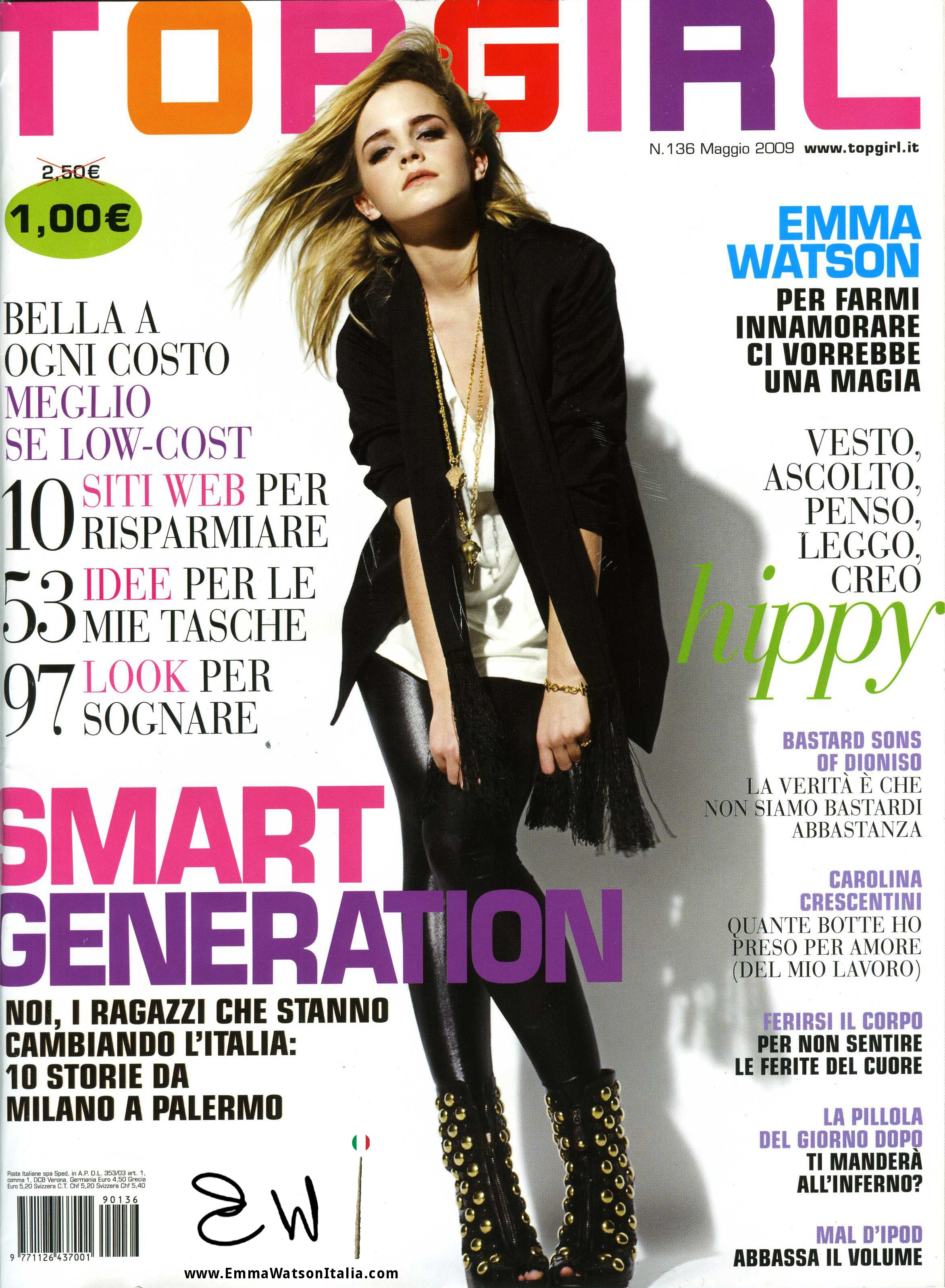 Emma Watson Top Girl cover